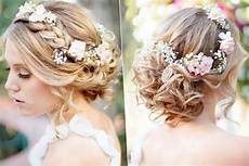 coiffure mariage avec fleur maquillage mariage