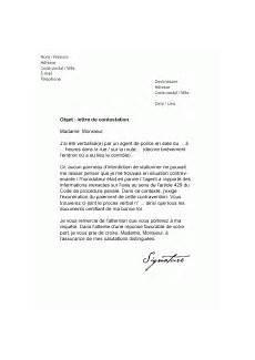 comment contester une amende de stationnement mod 232 les de lettres de contestation pour contester efficacement