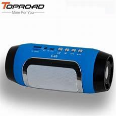 bluetooth lautsprecher stereo toproad hifi portable wireless bluetooth speaker stereo