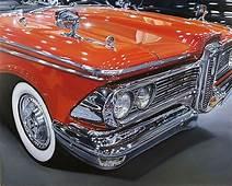 Hyper Realism 59 Edsel By Cheryl Kelley Paint  Car