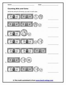 counting coins and bills worksheets counting bills and coins money worksheets worksheets teacher worksheets