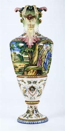 antico vaso a due anse grande vaso sesto fiorentino manifattura la colonnata