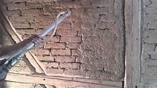 alte ziegelmauer sanieren fachwerk verputzen teil 1