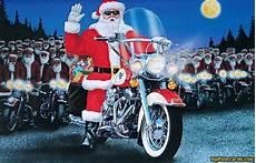 weihnachtsmann auf motorrad gif biker quotes quotesgram