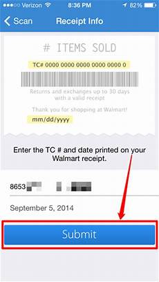 walmart receipt app how to enter receipts for walmart s savings catcher program on the walmart for iphone app