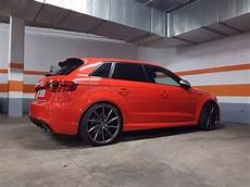 Audi Rs3 2016 On 20inch Vossen Cvt Wheels Glossy Grey