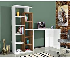libreria con scrivania integrata scrivania poly e noce con libreria integrata duzzle