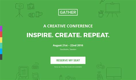 gather v2 7 event conference wp landing page theme