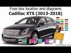 Fuse Box Location And Diagrams Cadillac Xts 2013 2018