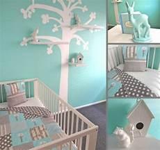babyzimmer wandtattoo wandfarbe mintgr 252 n f 252 r kinder und babyzimmer 50 ideen