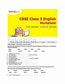 grammar worksheets for grade 5 cbse 25117 practice grammar worksheet for cbse class 3 the adverb by takshila learning