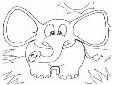Ausmalbilder Blauer Elefant Kostenlose Druckbare Elefanten Malvorlagen F 252 R Kinder