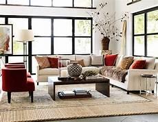 rustic modern living room decor williams sonoma