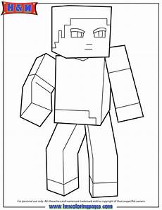 Malvorlagen Minecraft Steve Minecraft Steve Coloring Pages Getcoloringpages
