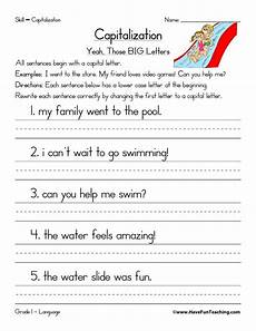capitalizing places worksheets 15962 editing practice second grade search results calendar 2015