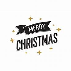 merry christmas banner with golden stars vector free download