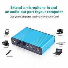 Bakeey Professional Channel Sound Card Channel by Headphone Lifiers Bakeey Professional 5 1 7 1 Channel