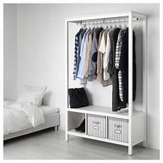 Hemnes Open Wardrobe White Stained Ikea Hong Kong