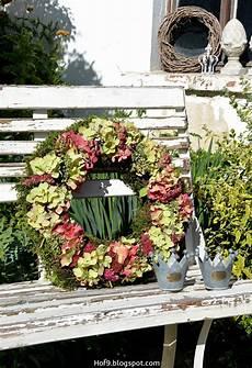 Kranz Mit Hortensien Binden Hortensienkranz Dekoration