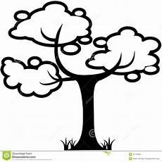 clipart alberi clipart di vettore fumetto della foglia della natura