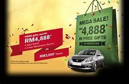 Nissan Almera Promotion 2013 RM3000 Rebate Discount