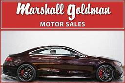 2016 Mercedes S65 Amg Coupe Ruby Blk Met Bengal Red Nav