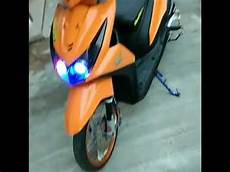 Modifikasi Beat Fi 2018 by Modifikasi Honda Beat Fi Terbaru 2018 Orange