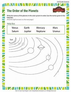 free science worksheets for grade 3 12549 the order of the planets printable science worksheet for 3rd grade teaching