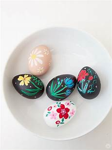 10 Easy Home Dyed Easter Egg Painting Ideas