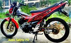 Modifikasi Motor Satria F by Trend Modif Motor Satria F 150 Terbaru