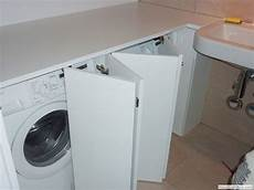 Einbau Waschmaschine Schrank Waschmaschine Badezimmer