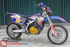 Modifikasi Motor Satria Fu 150 by Modifikasi Suzuki Satria Fu 150 Trail Gambar Modifikasi