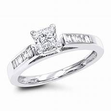 wedding rings cheap and real cheap engagement rings 0 75ct princess cut diamond