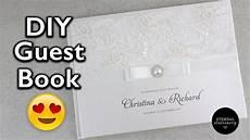hardcover wedding guest book tutorial diy wedding