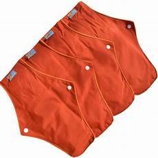 jual menspad premium 4pcs day 26cm sb pembalut kain cuci ulang menstrual pad motif