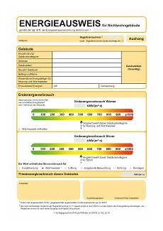 Energieausweise Im Pdf Format Zum Ausf 252 Llen W 228 Rmeschutz