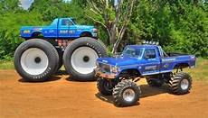 The Original Truck Bigfoot 1 Next To The Tallest