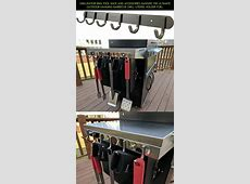 Grillinator BBQ Tool Rack and Accessories Hanger: The