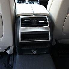 automobile air conditioning service 2012 bmw 5 series parking system car interior rear air conditioning outlet vent frame sticker for bmw 5 series f10 520 525 2011