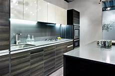 lavish white and grey kitchen for hygienic and bright view