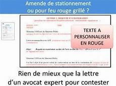Lettres Types Pour Contester Une Contravention