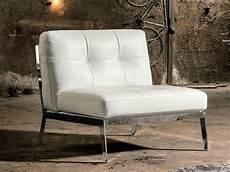 Sessel Ohne Armlehne - sessel ohne armlehne gestepptes leder idfdesign