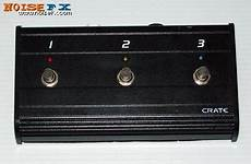 Noisefx Crate Three Button Footswitch Cfp3