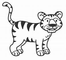 malvorlagen zum drucken ausmalbild tiger kostenlos 2
