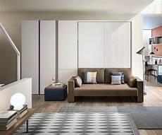 Clei Penelope 2 Design Schrankbett Wei 223 160x200 Cm Mit Sofa