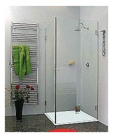 Duschkabine Glas Eckeinstieg - eck duschkabinen 75 x 75 cm mit glas festwand oder als