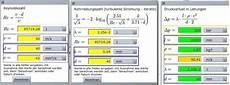 berechnung volumenstrom hydrospeicher maschinenbau
