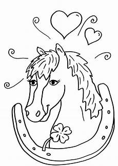 ausmalbilder pferdekopf malvorlagentv