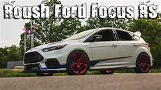 500hp roush ford focus rs on the vossen hc 1 wheels