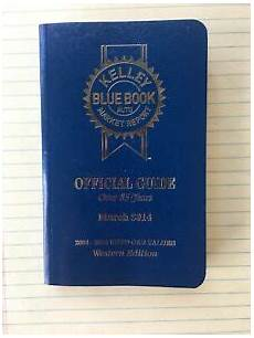kelley blue book used cars value calculator 2008 mercedes benz sl class auto manual kelley blue book official guide march 14 used car value 2008 14 western edition ebay
